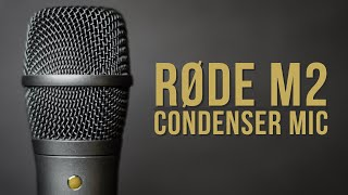 Rode M2 Handheld Condenser Microphone Review / Test