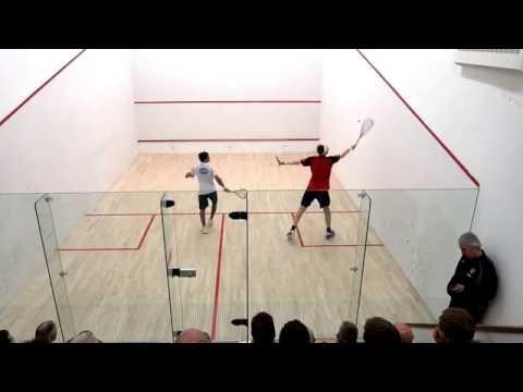World number 1 Squash Player James Willstrop vs Indian Champion Saurav Ghosal