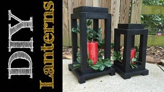 DIY Rustic Wooden Lanterns (CMRW#49)
