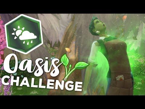 Plant Sim Powers Activate!! 🌷🌞 SIMS 4: SEASONS • OASIS CHALLENGE • #10