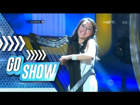 Maria Pratiwi perfoms with Electric Harp! So beautiful! - Go Show