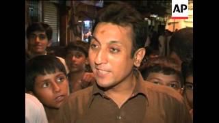 Fans celebrate Pakistan