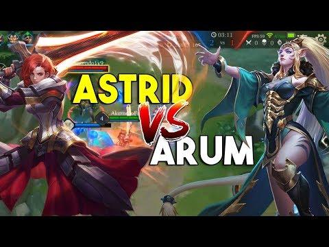 Astrid vs Arum - Arena of Valor