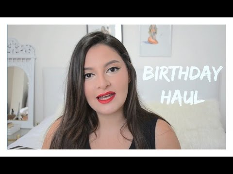 BIRTHDAY HAUL: TWINKLEDEALS , BERSHKA , PARFOIS , GIVENCHY ..    MACNEE