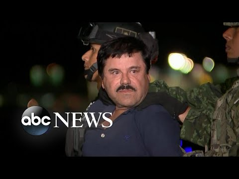Drug lord El Chapo gets life in prison