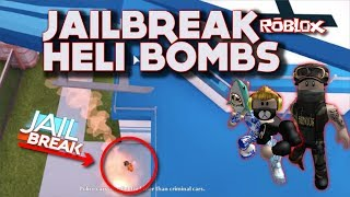 (Roblox JailBreak) Helicopter Bomb Update! Rocket Update Military Heli & the Quad WORKS!