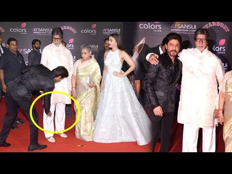 Image result for people touching feet of amitabh bacchan