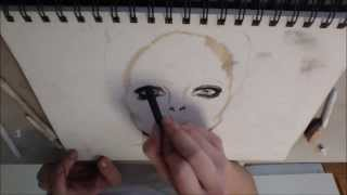 Speed Drawing of Avril Lavigne