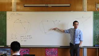 Intercept Properties - Circle Geometry (2 of 3: Secants from a point)