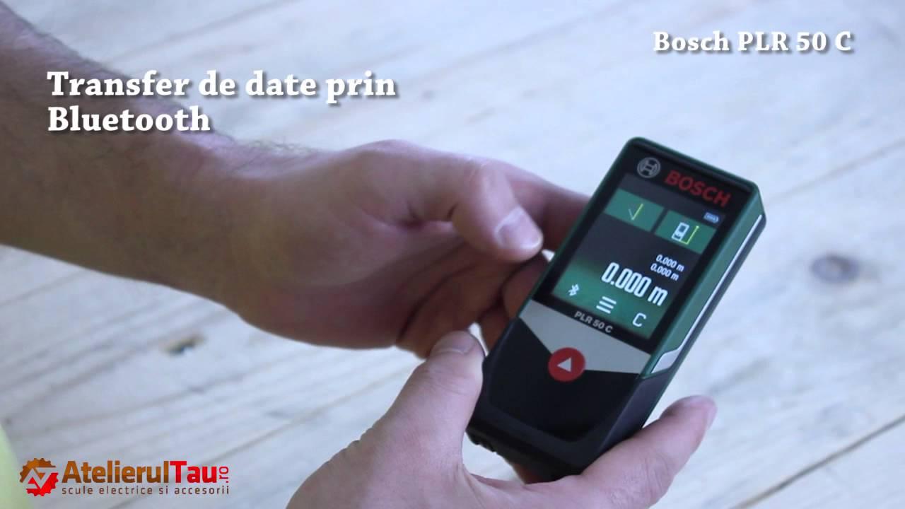 Bosch Digitaler Laser Entfernungsmesser Plr 50 C : Telemetru digital cu laser bosch plr c atelierultau ro