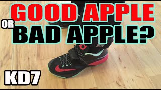 "Did I Get A ""BAD APPLE""? KD7 ""GOOD APPLE"" REVIEW + ON FOOT"