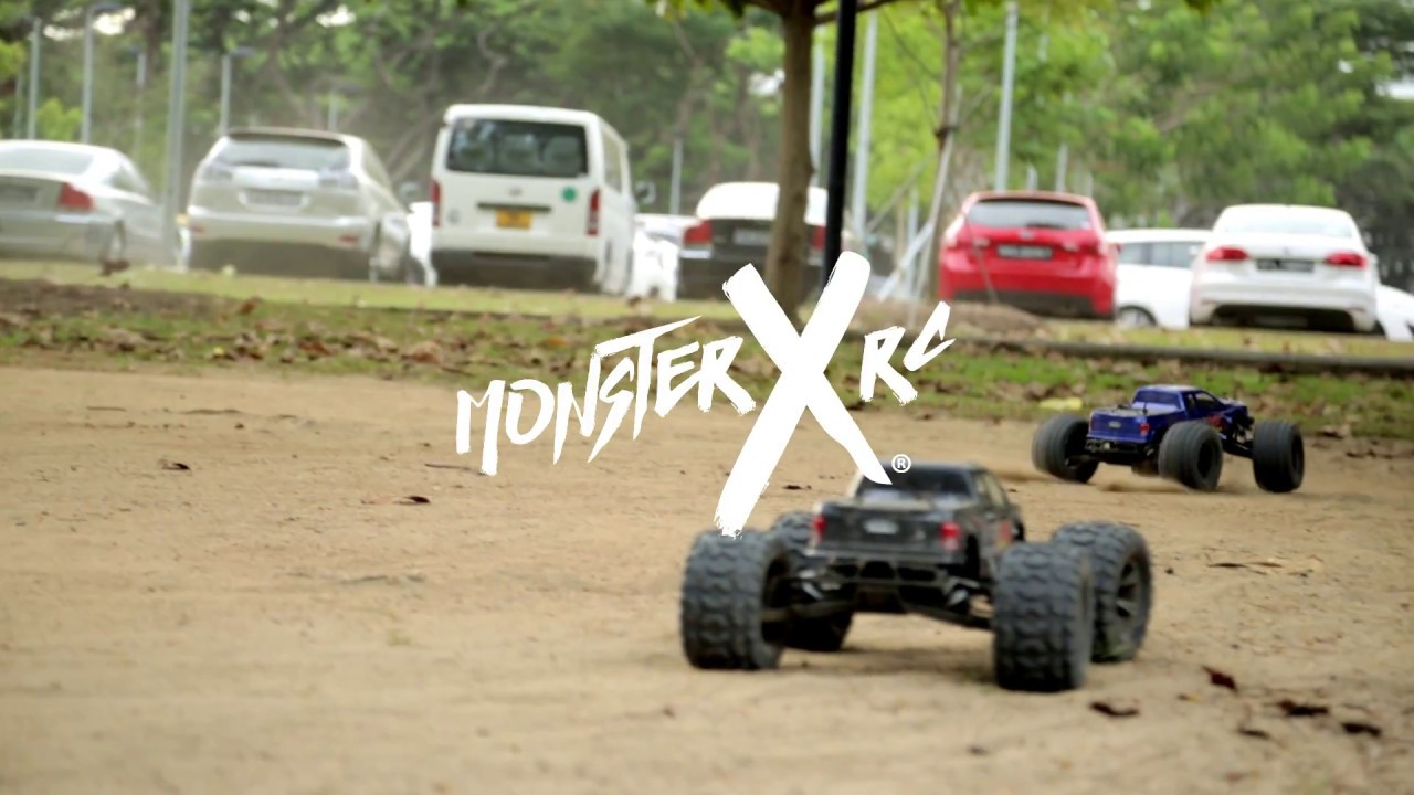 Monster X Rc Singapore S Only Monster Truck Experience August