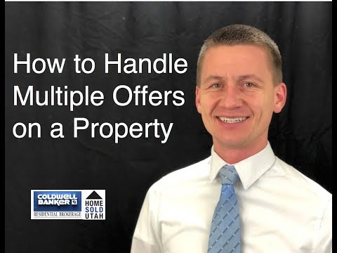 How to Handle Multiple Offers on a Property