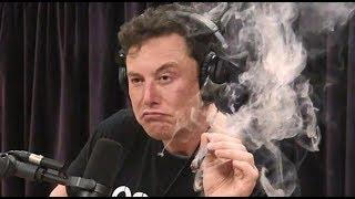 Elon Musk Fuma Marihuana y Bebe Alcohol en una Entrevista y pierde TODO su dinero