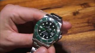 Gambar cover Rolex Submariner 116610LV Watch Review | aBlogtoWatch