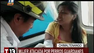 Una mujer fue atacada por perros guardianes en Chimaltenango