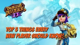 DD2 - 5 Things Every New Player Should Know!