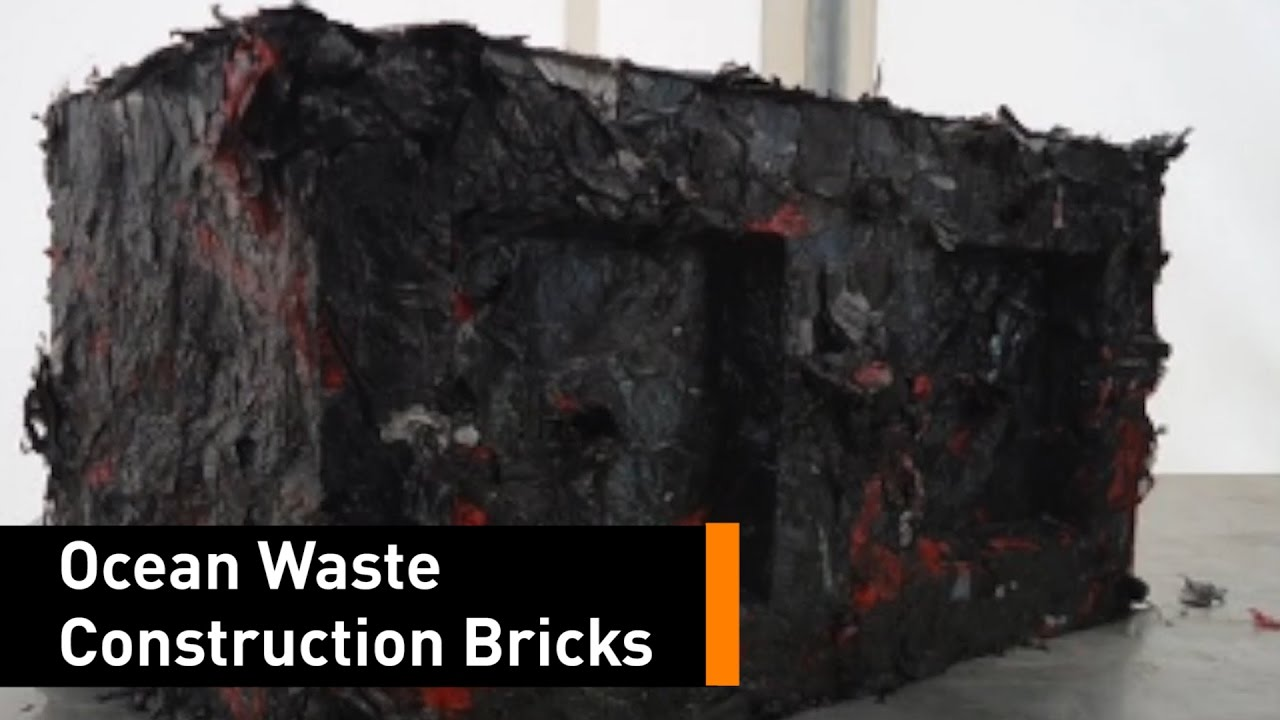 These Recycled Plastic Bricks Work Better Than Cement
