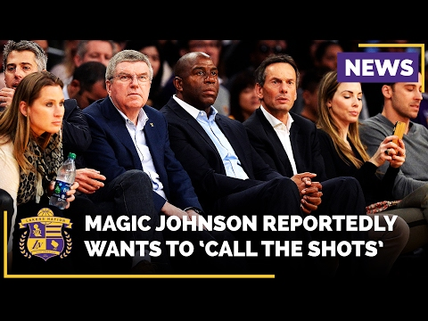 Magic Johnson Wants To 'Call The Shots' For The Lakers