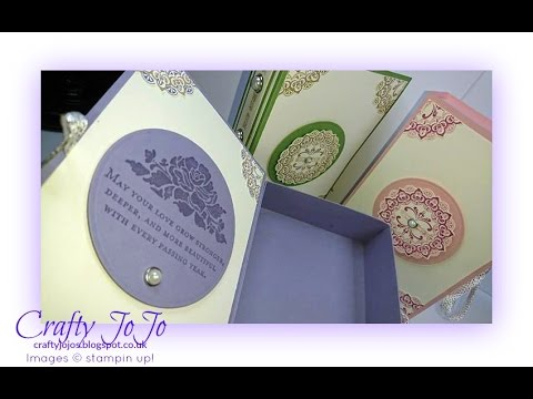 Wedding Keepsake Book Box - Tutorial -
