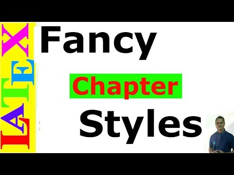 Fancy Chapter Styles in LaTeX (Latex Advanced Tutorial-04