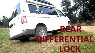 Rear differential lock Volkswagen T5 4motion demon