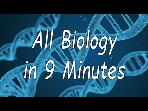 All of Biology in 9 minutes