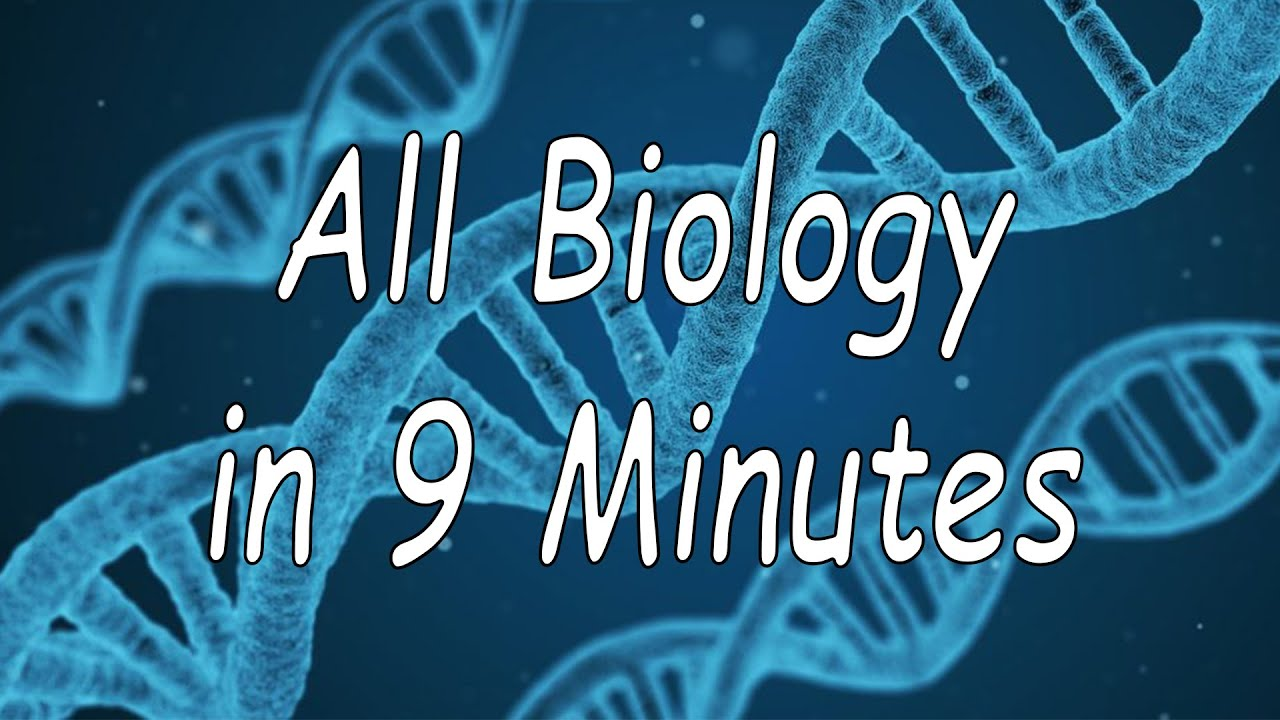 Download All of Biology in 9 minutes