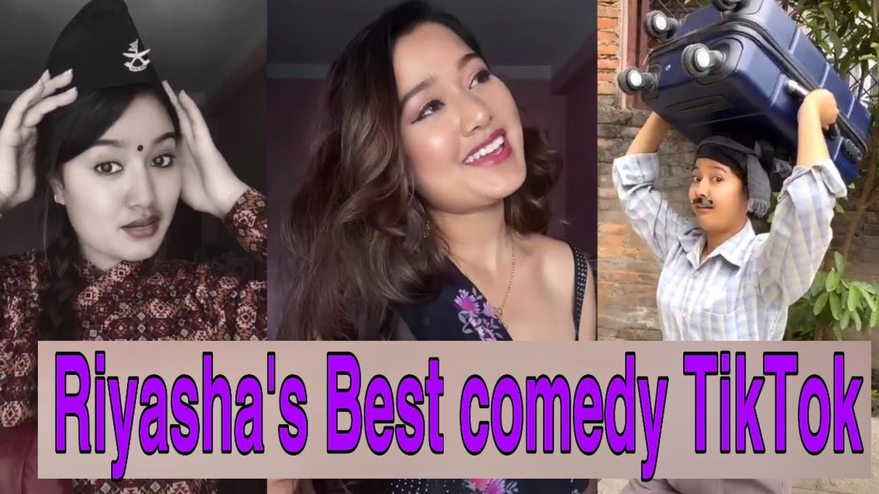 Riyasha dahal tiktok | Best Comedy Video in Tiktok | TIKTOK NEPAL 2020