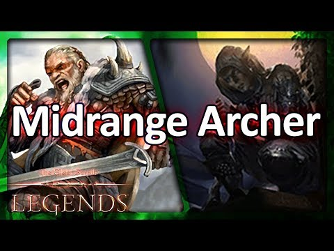 (TES: Legends) Climbing with Old-School Midrange Archer