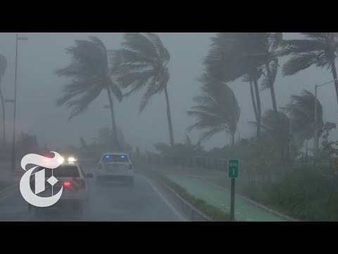 Hurricane Irma Pummels Caribbean | The New York Times