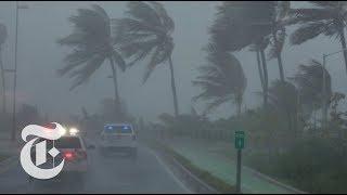 Hurricane Irma Pummels Caribbean   The New York Times