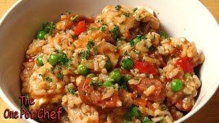 Easy Chicken And Chorizo Risotto - Recipe