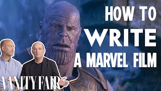 Marvel Writers Explain How They Wrote MCU Blockbusters | Vanity Fair
