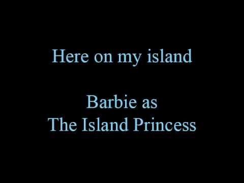 Here on my island - lyrics