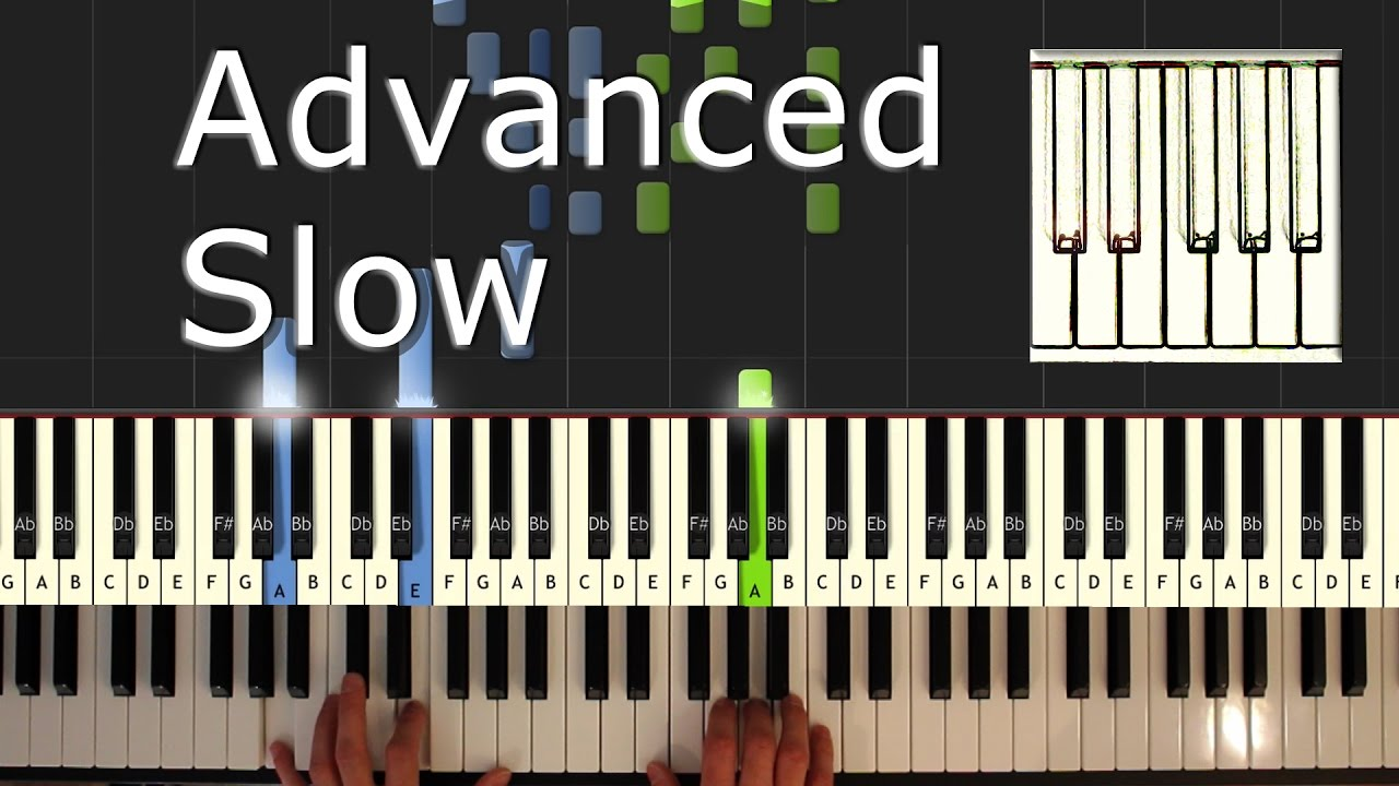 Bella S Lullaby Piano Tutorial Easy Slow Twilight How To Play Synthesia Youtube