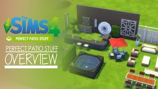 The Sims 4 - Perfect Patio Stuff Pack - Overview