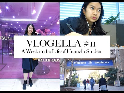 Vlogella #11 | A week in the life of University of Melbourne Student