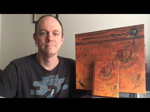 Alice Cooper - Old School boxset (deluxe school desk edition) unboxing & review