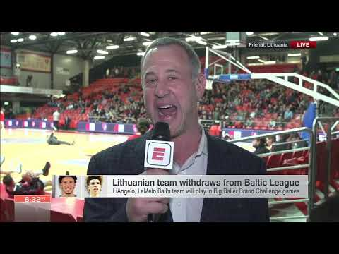 Jeff Goodman: 'LaVar Ball is calling the shots far more' in Lithuania | ESPN