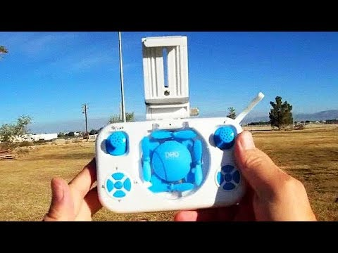 DHD D4 Pocket FPV 720p Camera Drone Flight Test Review