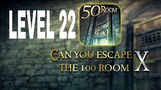 Can You Escape The 100 room X level 22 Walkthrough