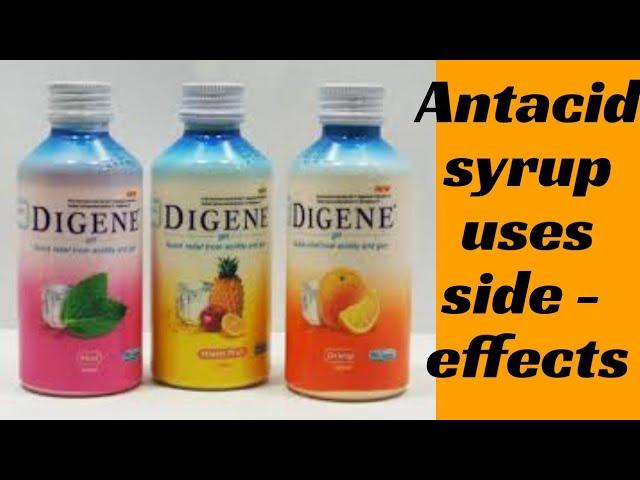 Antacid Syrup Digene Gel Mucaingel Uses Dosage In Hindi Urdu Youtube