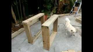 The Viking Table Built From Bunnings Sleepers