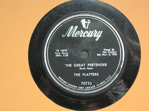 The Great Pretender - The Platters - Mercury Records 70753