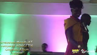 Chebaibai Meruti Performing At Naomie Kosgei's ONGILOSU Album Launch