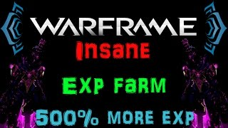 [U17.4] Warframe - Fastest way to Lvl up! 500% more Exp [Faster than Draco] | N00blShowtek