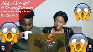 Ahmed Deedat - Pastor caught unaware of 'word for word' copying in the bible! REACTION VIDEO