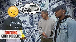 Is she buying a Mercedes with HIS money? | Gold Digger Prank 2018 thumbnail
