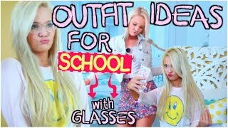 Cute School Outfit Ideas with Glasses!